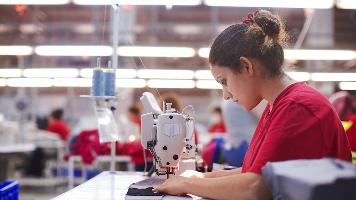Sewing factory