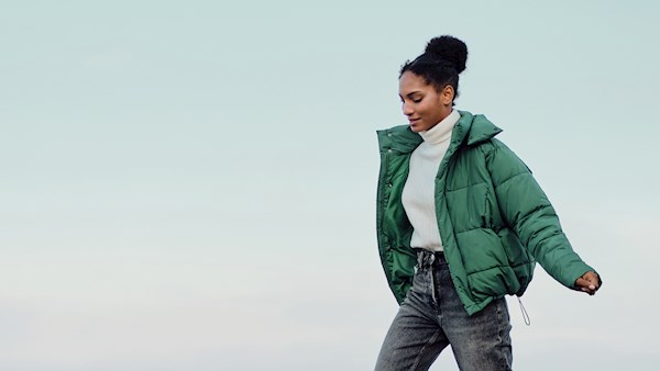 Thread for down jackets