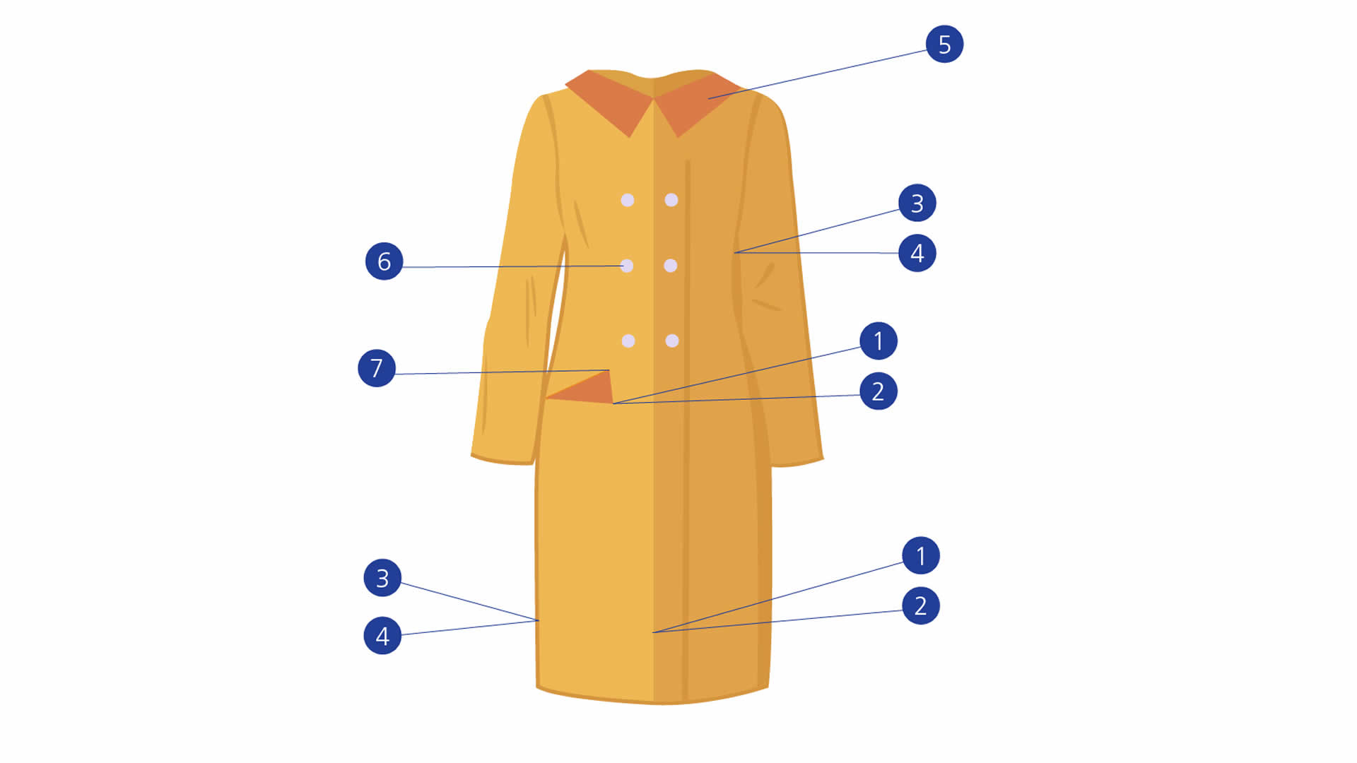 Ladieswear Coats diagram