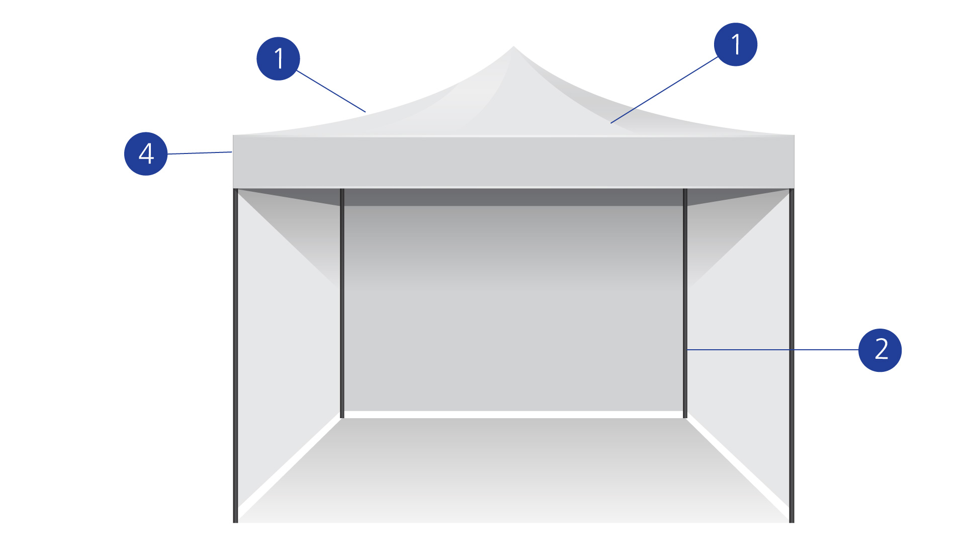 Awnings wireframe