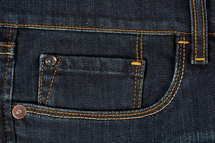 Example of pocket stitching