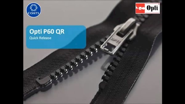 P60 QR - Quick release zip for children's jackets