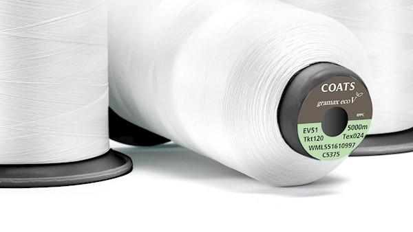 Gramax EcoVerde recycled textured polyester thread
