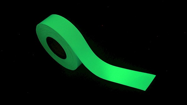 Signal Lucence glow in the dark tape
