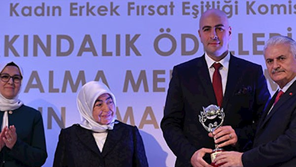 Award winner in Turkey